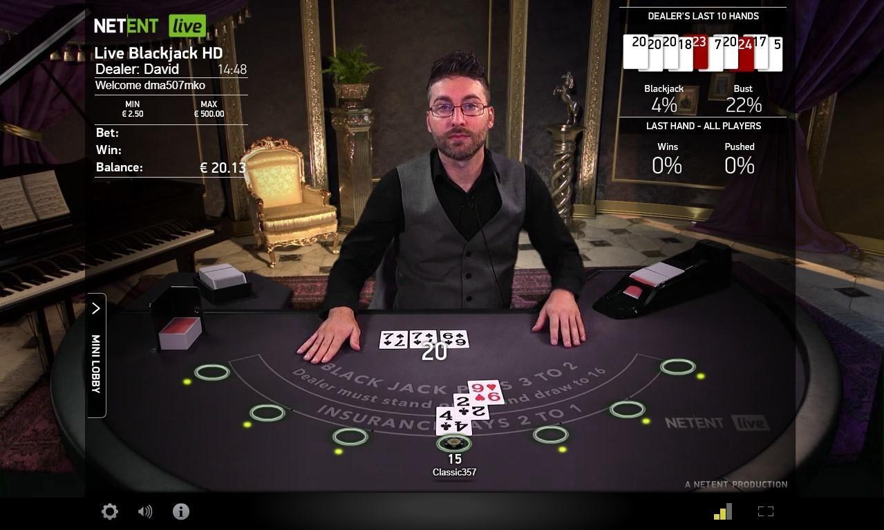 LIve casino utan svensk licens
